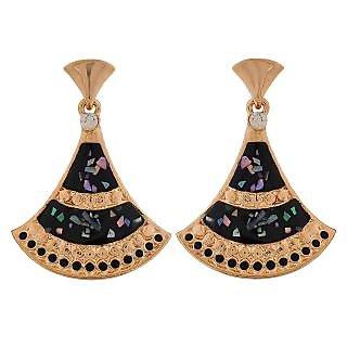 Maayra Terrific Multicolour Designer Casualwear Drop Earrings