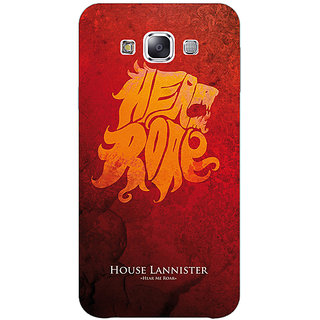 Jugaaduu Game Of Thrones GOT House Lannister  Back Cover Case For Samsung Galaxy J5 - J1150158