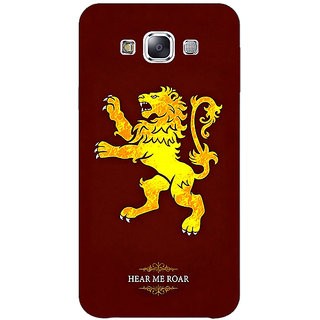 Jugaaduu Game Of Thrones GOT House Lannister  Back Cover Case For Samsung Galaxy J5 - J1150162
