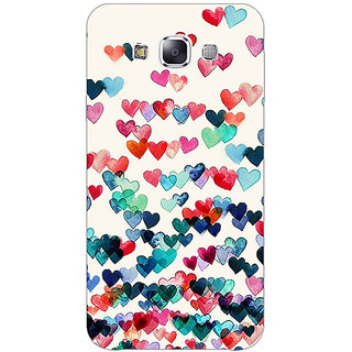 Jugaaduu Hearts in the Air Pattern Back Cover Case For Samsung Galaxy J3 - J1140234