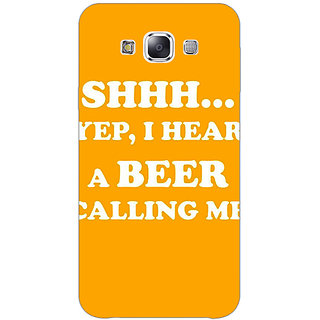 Jugaaduu Beer Quote Back Cover Case For Samsung Galaxy J3 - J1141263