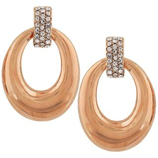 Maayra Gorgeous Gold Designer College Drop Earrings