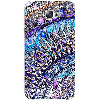 Jugaaduu Paisley Beautiful Peacock Back Cover Case For Samsung Galaxy J3 - J1141587