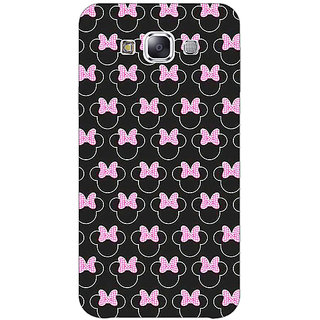 Jugaaduu Minnie Mouse Pattern Back Cover Case For Samsung Galaxy J3 - J1141386