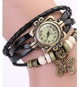 Vintage Ladies Watches , Womens Watch For Ladies Black