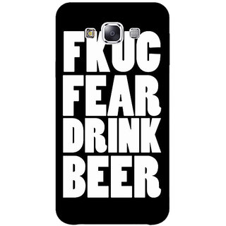 Jugaaduu Beer Quote Back Cover Case For Samsung Galaxy On5 - J1171228