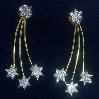 American diamond fancy earings