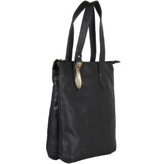 Ivy Womens  Black Stylish Handbag 101201