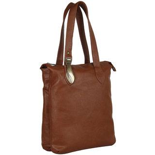 Ivy Womens  Tan Stylish Handbag 101215