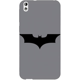 Jugaaduu Superheroes Batman Dark knight Back Cover Case For HTC Desire 816G - J1070018