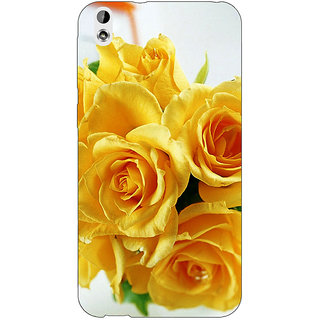 Jugaaduu Roses Back Cover Case For HTC Desire 816 - J1050737