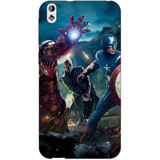 Jugaaduu Superheroes Ironman Back Cover Case For HTC Desire 816 Dual Sim - J1060881