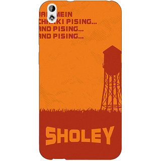 Jugaaduu Bollywood Superstar Sholay Back Cover Case For HTC Desire 816G - J1071125