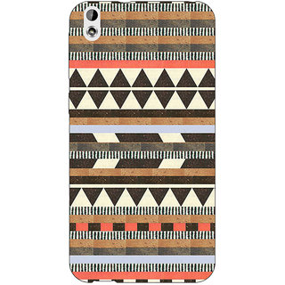 Jugaaduu Aztec Girly Tribal Back Cover Case For HTC Desire 816G - J1070062