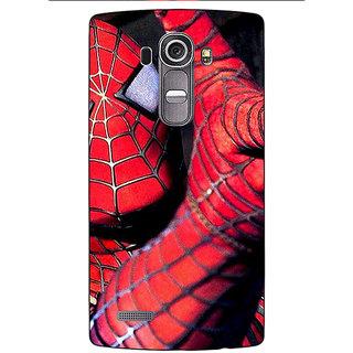 Jugaaduu Superheroes Spiderman Back Cover Case For LG G4 - J1100900