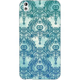 Jugaaduu Vintage Pattern Back Cover Case For HTC Desire 816 Dual Sim - J1060223