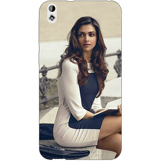 Jugaaduu Bollywood Superstar Deepika Padukone Back Cover Case For HTC Desire 816 Dual Sim - J1061019