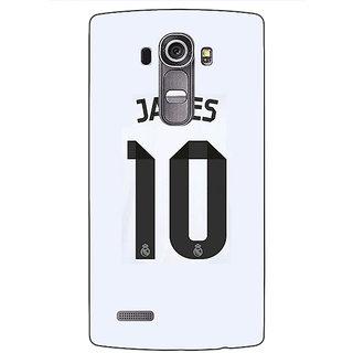Jugaaduu Real Madrid James Rodriguez Back Cover Case For LG G4 - J1100592