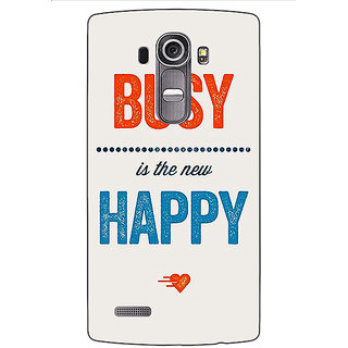 Jugaaduu Quote Back Cover Case For LG G4 - J1101325