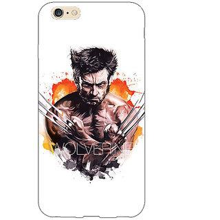 Jugaaduu Superheroes Wolverine Back Cover Case For Apple iPhone 6S Plus - J1090335