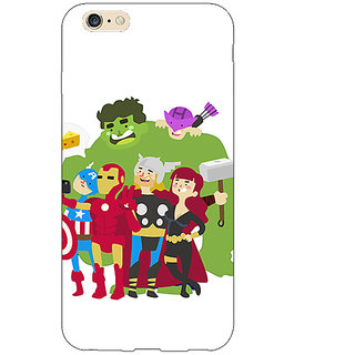 Jugaaduu Superheroes Baby Avengers Back Cover Case For Apple iPhone 6S Plus - J1090337