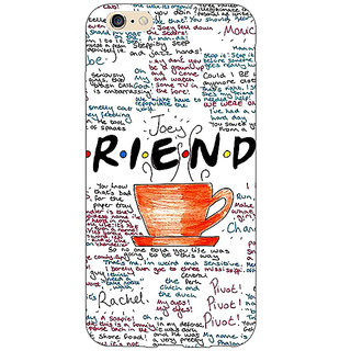 Jugaaduu FRIENDS Back Cover Case For Apple iPhone 6S - J1080451
