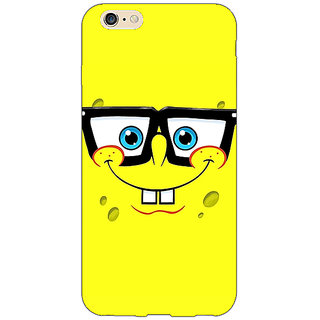 Jugaaduu Spongebob Back Cover Case For Apple iPhone 6S - J1080459