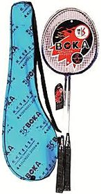 boka boka branded badminton racquet