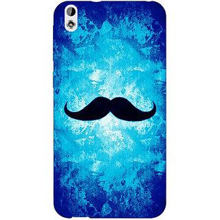 Jugaaduu Moustache Back Cover Case For HTC Desire 816 Dual Sim - J1061449