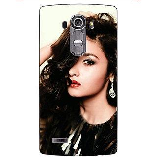 Jugaaduu Bollywood Superstar Alia Bhatt Back Cover Case For LG G4 - J1101026