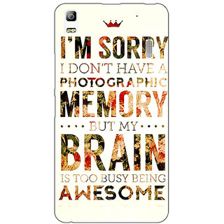 Jugaaduu SUITS Quotes Back Cover Case For Lenovo K3 Note - J1120481