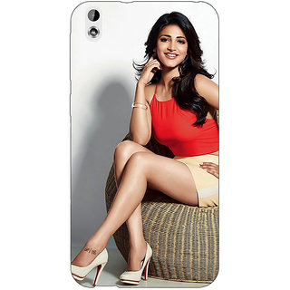 Jugaaduu Bollywood Superstar Shruti Hassan Back Cover Case For HTC Desire 816 Dual Sim - J1061067