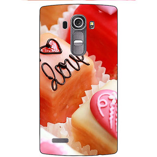 Jugaaduu Cupcakes Love  Back Cover Case For LG G4 - J1100715