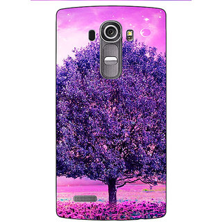 Jugaaduu Whishing Tree Back Cover Case For LG G4 - J1100718