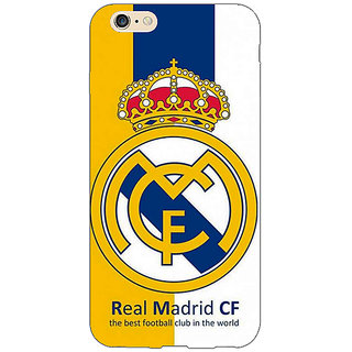 Jugaaduu Real Madrid Back Cover Case For Apple iPhone 6S - J1080591