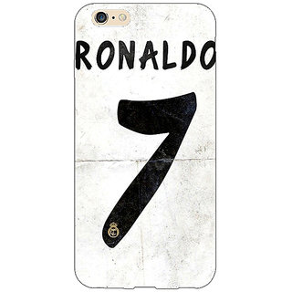 Jugaaduu Real Madrid Ronaldo Back Cover Case For Apple iPhone 6S - J1080598