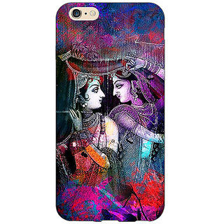 Jugaaduu Radha Krishna Back Cover Case For Apple iPhone 6S - J1081279