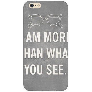 Jugaaduu Quote Back Cover Case For Apple iPhone 6S - J1081316