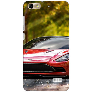 Jugaaduu Super Car Aston Martin Back Cover Case For Huawei Honor 4C - J850612