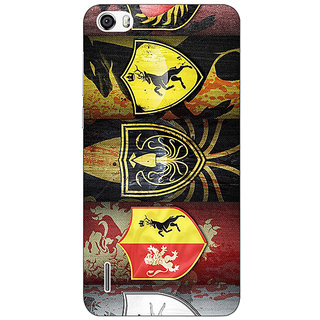 Jugaaduu Game Of Thrones GOT  Back Cover Case For Huawei Honor 6 - J860117