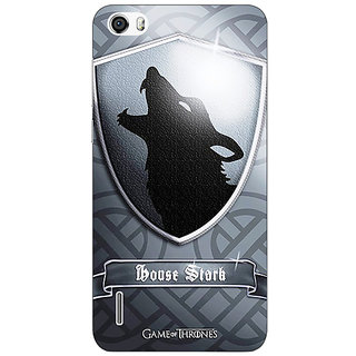 Jugaaduu Game Of Thrones GOT House Stark  Back Cover Case For Huawei Honor 6 - J860133