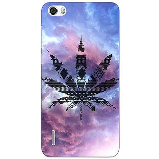 Jugaaduu Weed Marijuana Back Cover Case For Huawei Honor 6 - J860495