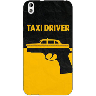Jugaaduu Hollywood Taxi Driver Back Cover Case For HTC Desire 816 Dual Sim - J1061095