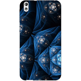 Jugaaduu Abstract Design Pattern Back Cover Case For HTC Desire 816 Dual Sim - J1061513