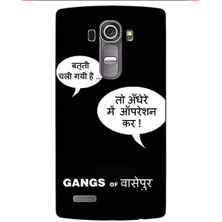 Jugaaduu Bollywood Superstar Gangs Of Wasseypur Back Cover Case For LG G4 - J1101101