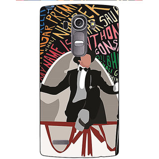 Jugaaduu Bollywood Superstar Anthony Gonsalves Back Cover Case For LG G4 - J1101117