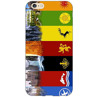 Jugaaduu Game Of Thrones GOT  Back Cover Case For Apple iPhone 6S Plus - J1090118