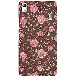 Jugaaduu Soft Roses Pattern Back Cover Case For Lenovo K3 Note - J1120240