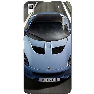 Jugaaduu Super Car Lotus Back Cover Case For Lenovo K3 Note - J1120644