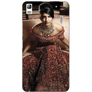 Jugaaduu Bollywood Superstar Sonam Kapoor Back Cover Case For Lenovo K3 Note - J1121000